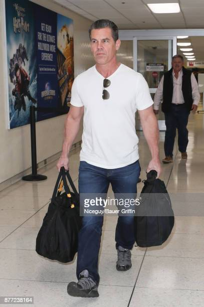 Josh Brolin is seen on November 21 2017 in Los Angeles California