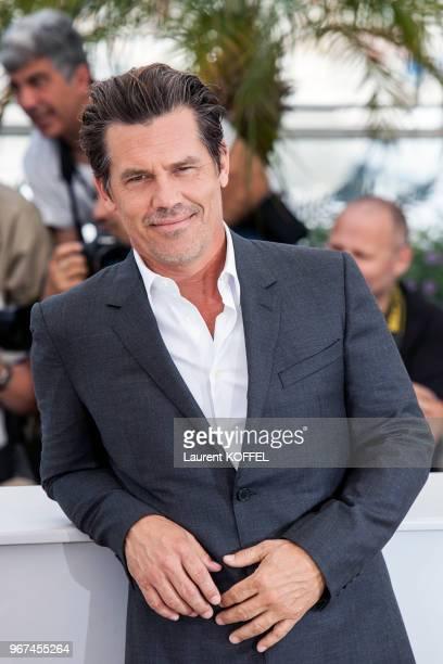 Josh Brolin lors du photocall du film 'Sicario' pendant le 68eme Festival du Film Annuel au Palais des Festivals le 19 mai 2015 Cannes France