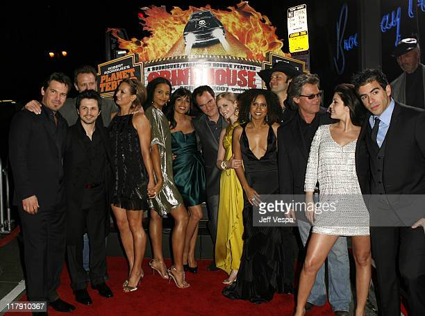 Josh Brolin Michael Biehn Freddy Rodriguez Zoe Bell Sydney Tamiia Poitier Rosario Dawson Quentin Tarantino Marley Shelton Tracie Thoms Robert...