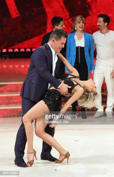 Josh Brolin performs on the Italian TV show 'Ballando Con Le Stelle' at RAI Auditorium on May 5 2018 in Rome Italy