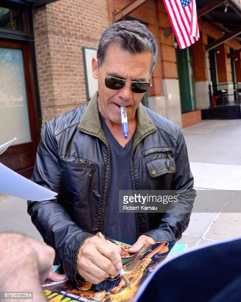 Josh Brolin seen out and about in Manhattan on June 20 2018 in New York City