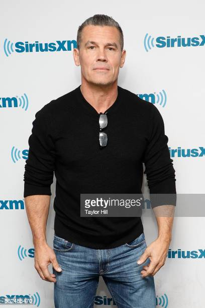 Josh Brolin visits the SiriusXM Studios on October 17 2017 in New York City