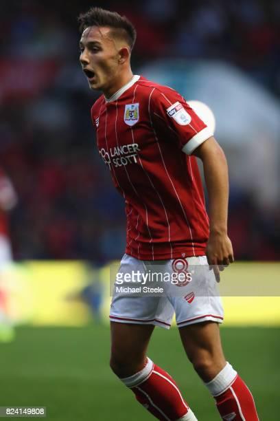 Josh Brownhill of Bristol City during the pre season match between Bristol City and FC Twente at Ashton Gate on July 28 2017 in Bristol England