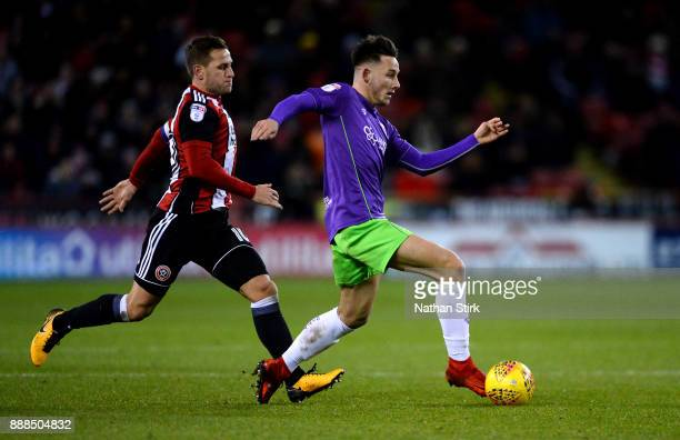 Josh Brownhill of Bristol City in action during the Sky Bet Championship match between Sheffield United and Bristol City at Bramall Lane on December...