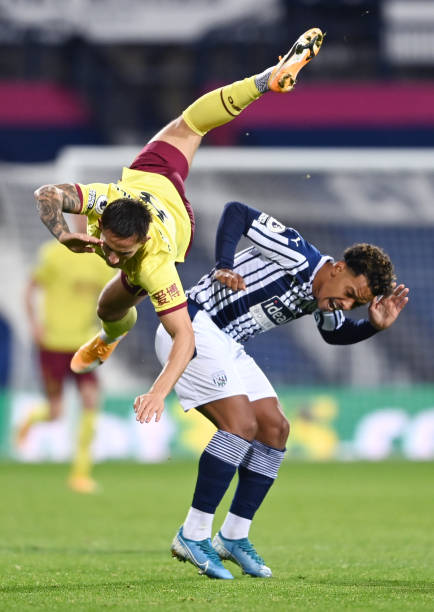 GBR: West Bromwich Albion v Burnley - Premier League