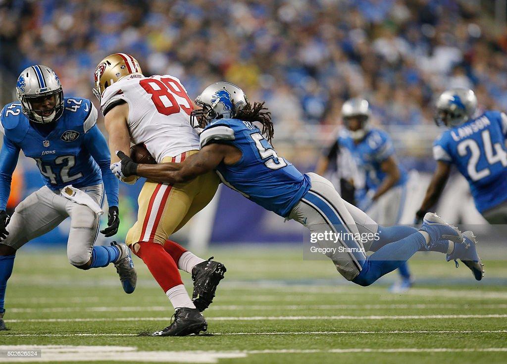 San Francisco 49ers v Detroit Lions : News Photo