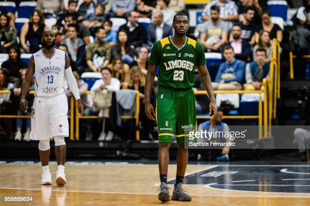Josh Carter of Limoges during the Pro A match between Levallois and Limoges on October 7 2017 in LevalloisPerret France