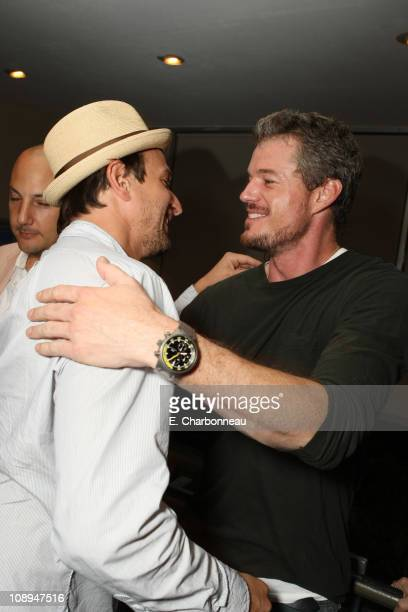 Josh Charles and Eric Dane at Donovan Leitch's 40th Birthday Party hosted by Hpnotiq held at The Muholland Tennis Club on August 16 2007 in Los...