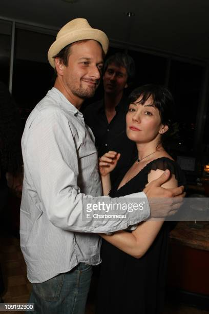 Josh Charles and Natasha Gregson Wagner at Donovan Leitch's 40th Birthday Party hosted by Hpnotiq held at The Muholland Tennis Club on August 16 2007...