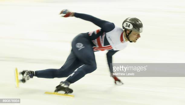 Josh Cheetham of Great Britain pictured during a media day for the Athletes Named in the GB Short Track Speed Skating Team for the PyeongChang 2018...