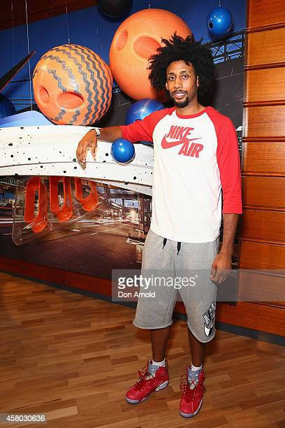 Josh Childress attends the launch of Australia's Nike flagship store on October 29, 2014 in Sydney, Australia.