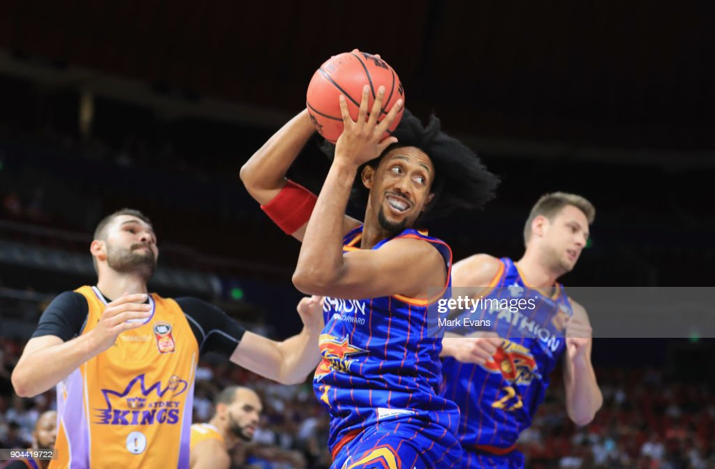 Josh Childress of the Adelaide 36ers in action during the round 14 NBL match between the Sydney Kings and the Adelaide 36ers at Qudos Bank Arena on January 13, 2018 in Sydney, Australia.
