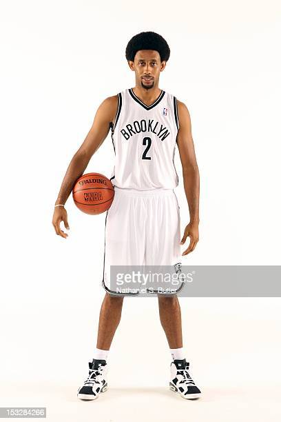 Josh Childress of the Brooklyn Nets poses for a portrait during Media Day on October 1 2012 at Barclay's Center in Brooklyn Borough of New York New...
