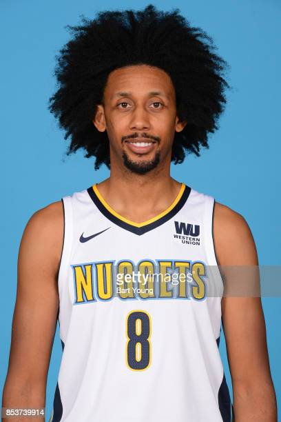 Josh Childress of the Denver Nuggets poses for a head shot during Media Day on September 25 2017 at the Pepsi Center in Denver Colorado NOTE TO USER...