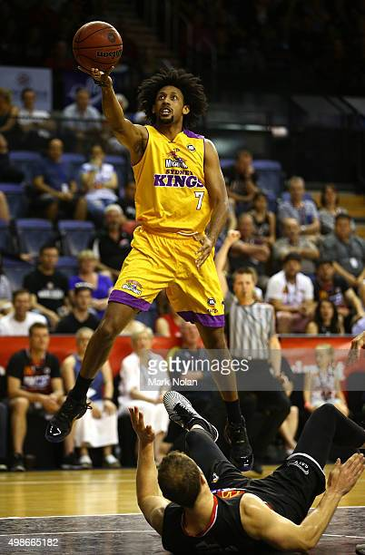 Josh Childress of the Kings drives to the basket during the round eight NBL match between the Illawarra Hawks and the Sydney Kings at Wollongong...