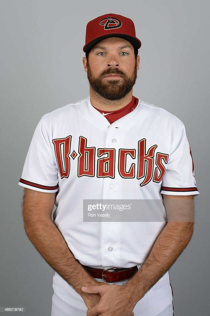 Josh Collmenter #55 of the Arizona Diamondbacks poses during Photo Day on Sunday, March 1, 2015 at Salt River Fields at Talking Stick in Scottsdale, Arizona.