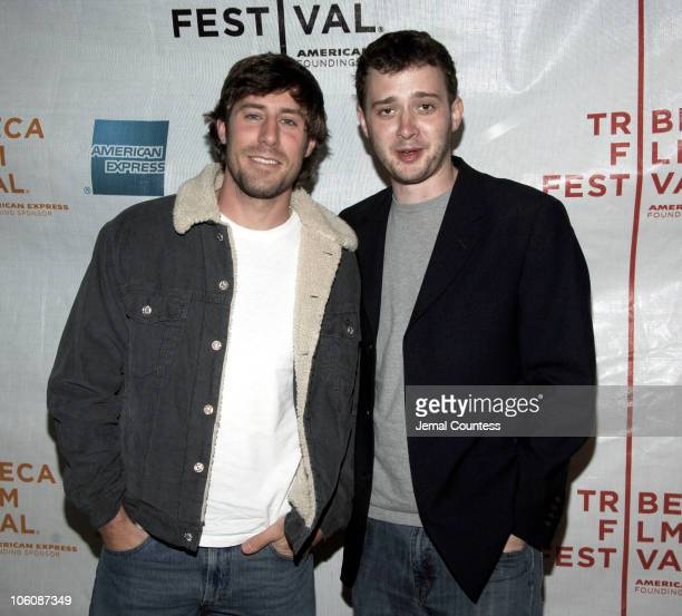 Josh Cooke and Eddie Kaye Thomas during 5th Annual Tribeca Film Festival 'Farewell Bender' Premiere at Regal Battery Park Cinemas in New York City...