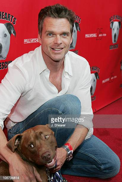 Josh Cox during Ace of Hearts' First Annual Hollywood Dog Bowl Hosted by Mandy Moore at Lucky Strike Lanes in Hollywood California United States