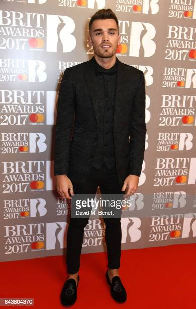 ONLY Josh Cuthbert attends The BRIT Awards 2017 at The O2 Arena on February 22 2017 in London England
