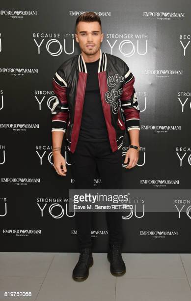 Josh Cuthbert attends the Emporio Armani You Fragrance launch at Sea Containers on July 20 2017 in London England