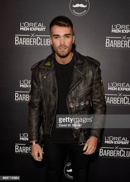 Josh Cuthbert attends the L'Oreal Paris Men Expert and Movember Charity Partnership event at The Bike Shed on October 31 2017 in London England