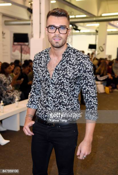 Josh Cuthbert attends the Streets of EQT Fashion Show at The Old Truman Brewery on September 15 2017 in London England Hailey Baldwin partners with...