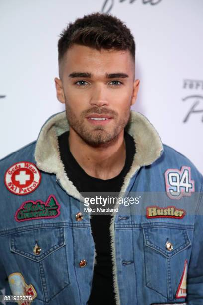 Josh Cuthbert attends the UK launch event for the new Ferrari Portofino at Kensington Olympia on November 29 2017 in London England