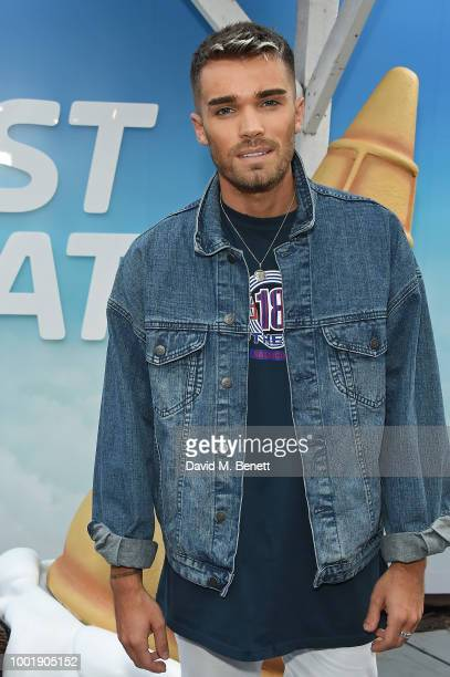Josh Cuthbert pictured at the VIP launch of Just Eat Food Fest Fantasy Fusions at Last Days of Shoreditch on July 19 2018 in London England The...