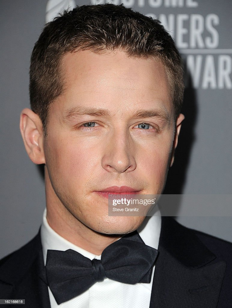 Josh Dallas arrive at the 15th Annual Costume Designers Guild Awards at The Beverly Hilton Hotel on February 19, 2013 in Beverly Hills, California.