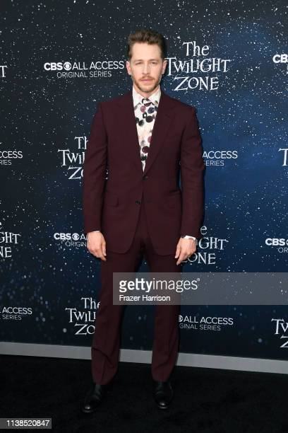 Josh Dallas attends CBS All Access new series The Twilight Zone premiere at the Harmony Gold Preview House and Theater on March 26 2019 in Hollywood...