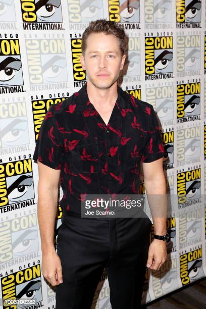Josh Dallas attends the 'Manifest' Press Line during ComicCon International 2018 at Hilton Bayfront on July 21 2018 in San Diego California