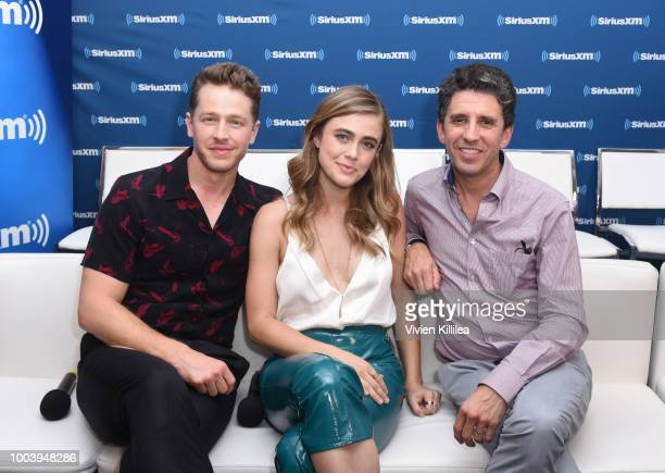 Josh Dallas Melissa Roxburgh and Jeff Rake attend SiriusXM's Entertainment Weekly Radio Broadcasts Live From Comic Con in San Diego at Hard Rock...