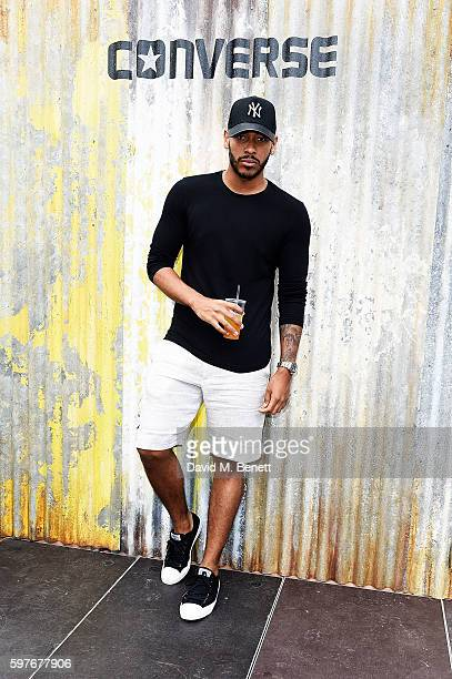 Josh Daniels attends the Converse party at Notting Hill Carnival to celebrate the new carnival inspired Converse Custom Chuck Taylor All Stars...