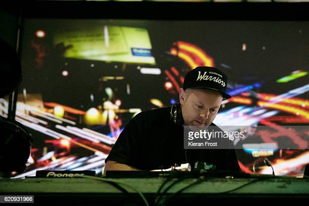 Josh Davis aka DJ Shadow performs at Metropolis Festival at the RDS Concert Hall on November 3 2016 in Dublin Ireland