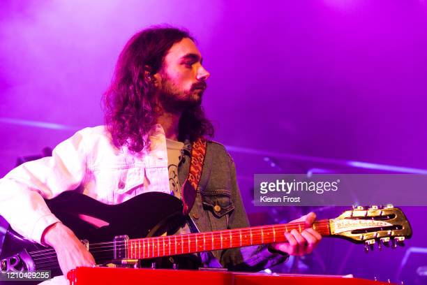 Josh Dewhurst of Blossoms performs at Olympia Theatre on March 04, 2020 in Dublin, Ireland.