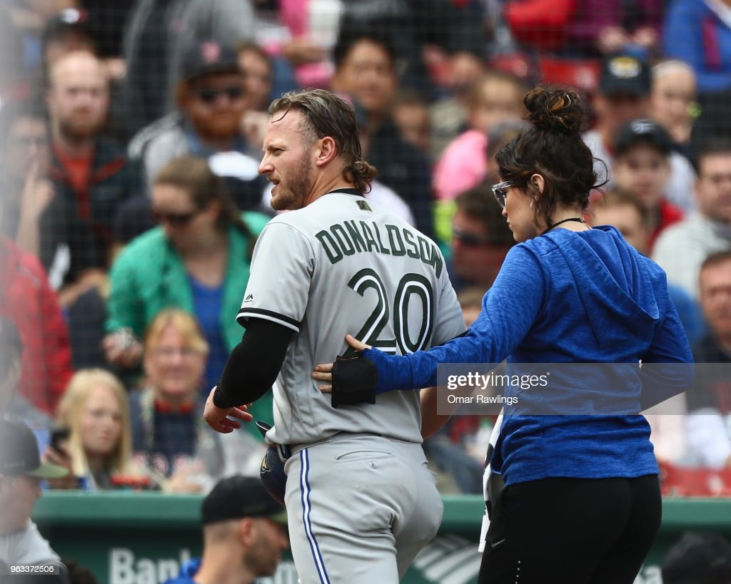 Toronto Blue Jays v Boston Red Sox : News Photo