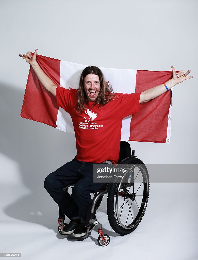 Josh Dueck poses for a portrait during the Canadian Olympic Committee Portrait Shoot on May 13, 2013 in Vancouver, British Columbia, Canada.