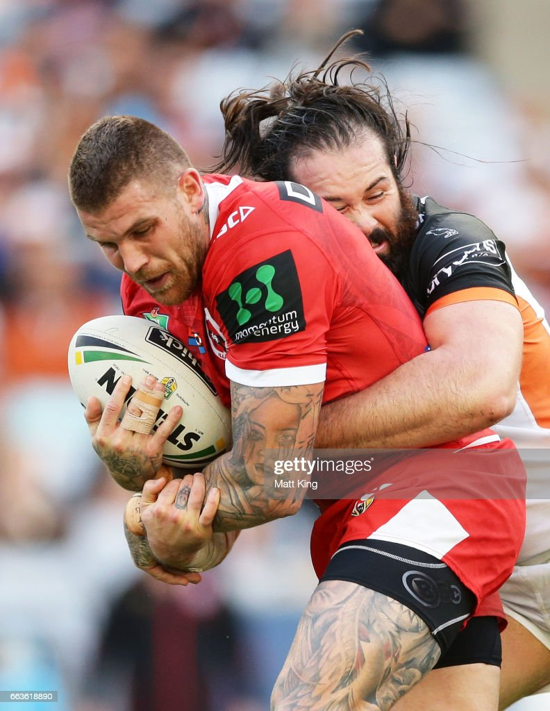 NRL Rd 5 - Wests Tigers v Dragons