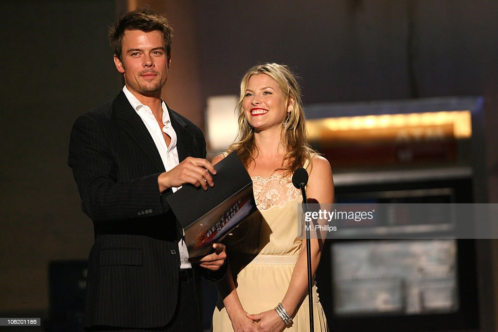 Josh Duhamel and Ali Larter during 2007 Taurus World Stunt Awards - Show at Paramount Studios in Los Angeles, California, United States.