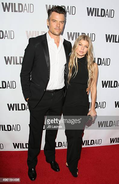 Josh Duhamel and Fergie attend the WildAid 2015 on November 7 2015 in Beverly Hills California