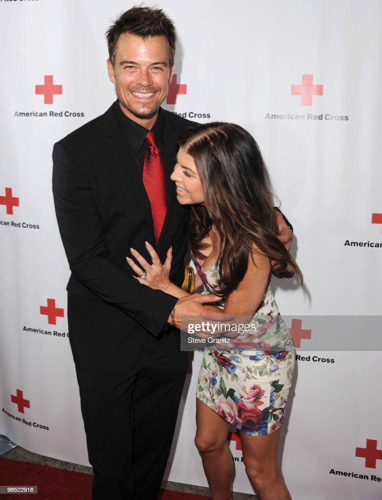 Josh Duhamel and singer Fergie attends The American Red Cross Red Tie Affair Fundraiser Gala at Fairmont Miramar Hotel on April 17, 2010 in Santa Monica, California.