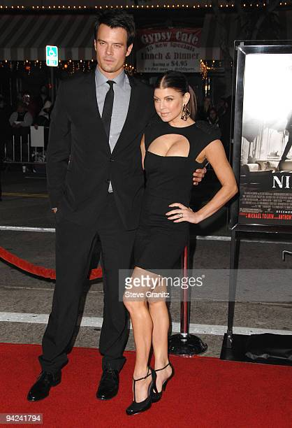 Josh Duhamel and Stacy Fergie Ferguson attends the NINE Los Angeles Premiere at Mann Village Theatre on December 9 2009 in Westwood California