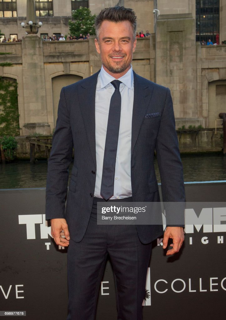 Josh Duhamel appears at the Transformers: The Last Knight Chicago premiere at Civic Opera Building on June 20, 2017 in Chicago, Illinois.