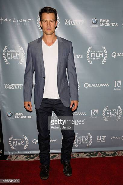 Josh Duhamel arrives at the closing night premiere of 'You're Not You' at the the 2014 San Diego Film Festival at Reading Cinemas Gaslamp on...