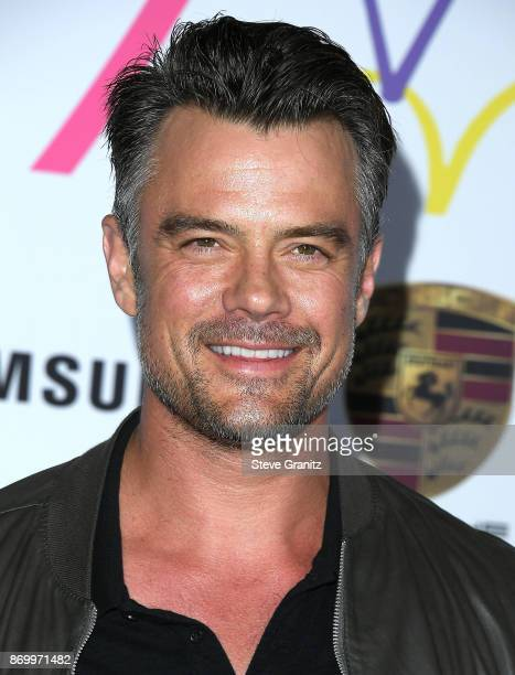 Josh Duhamel arrives at the Goldie's Love In For Kids at Ron Burkle's Green Acres Estate on November 3 2017 in Beverly Hills California