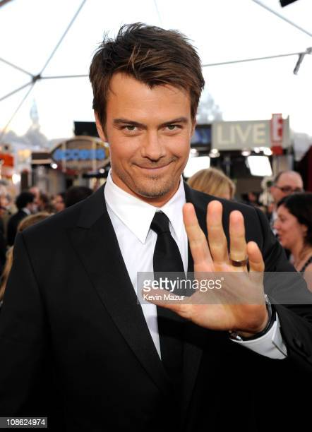 Josh Duhamel arrives at the TNT/TBS broadcast of the 17th Annual Screen Actors Guild Awards held at The Shrine Auditorium on January 30 2011 in Los...