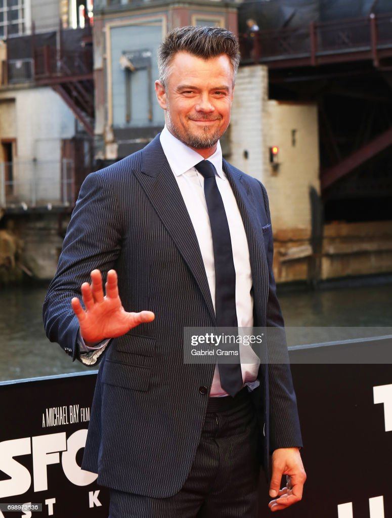 Josh Duhamel arrives for the premiere of 'Transformers: The Last Knight' at Civic Opera Building on June 20, 2017 in Chicago, Illinois.