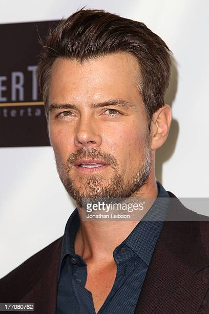 """Josh Duhamel arrives to the """"Scenic Route"""" Los Angeles Premiere at Chinese 6 Theater Hollywood on August 20, 2013 in Hollywood, California."""