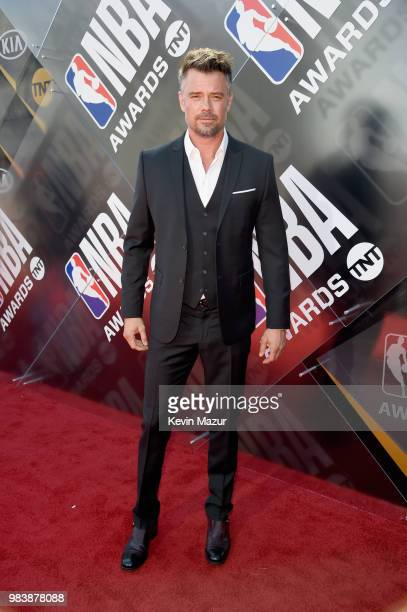 Josh Duhamel attends 2018 NBA Awards at Barkar Hangar on June 25 2018 in Santa Monica California