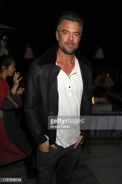 Josh Duhamel attends Common's 5th Annual Toast to the Arts at Ysabel on February 22 2019 in West Hollywood California